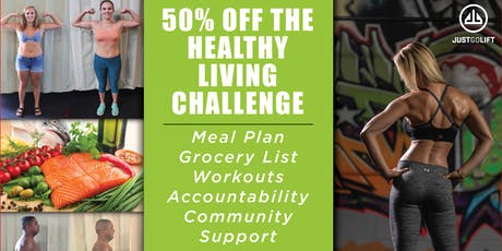 Healthy Living Challenge tickets