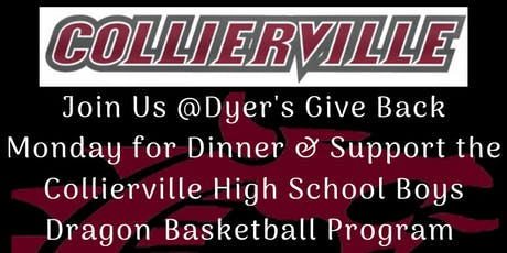 Dyer's Give Back Monday for CHS Boys Dragon Basketball Fundraiser tickets