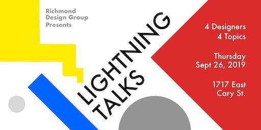 Design Lightning Talks