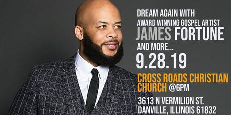 James Fortune tickets