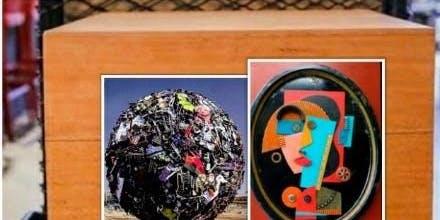 'Art in a Box' : Live Art Display