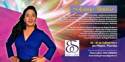 Solange Munoz en Miami - Activaciones Estelares, cursos de Grigori Grabavoi