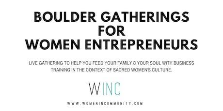 WINC Wealth Nights for Women Entrepreneurs in Boulder tickets
