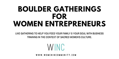 WINC Wealth Nights for Women Entrepreneurs in Boulder tickets