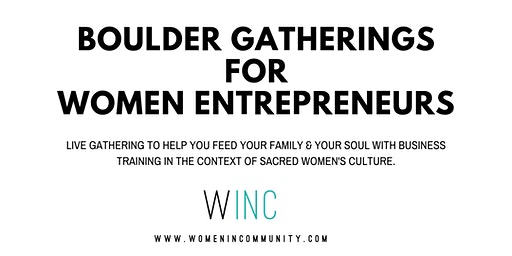 WINC Wealth Nights for Women Entrepreneurs in Boulder