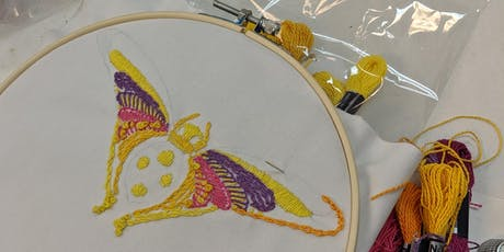 Project Embroidery October tickets