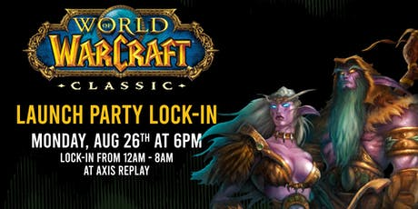 World of Warcraft Classic Launch Party tickets