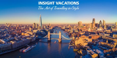 Insight Vacations Europe 2020 Launch  Event tickets