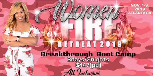 Women on Fire Retreat 2019