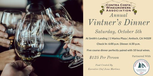 2019 Contra Costa Winegrowers Vintner Dinner