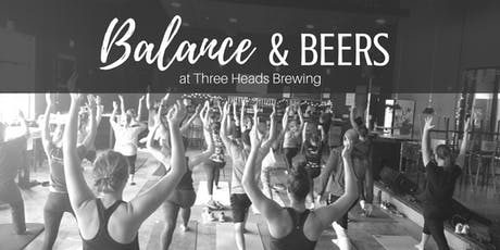 Balance & Beers at Three Heads Brewing tickets
