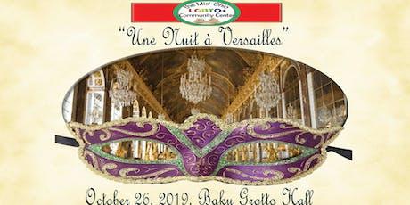 A Night at Versailles Masquerade Ball tickets