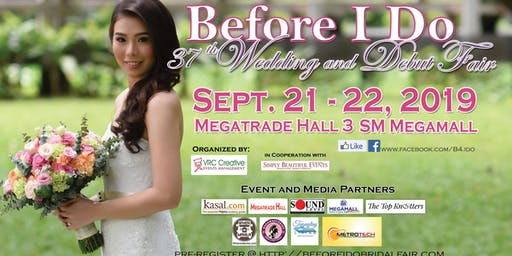 37th Before I Do - Wedding & Debut Fair