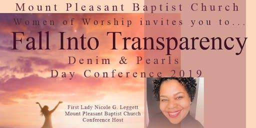 W.O.W MPBC Presents Denim & Pearls, FALL into Transparency