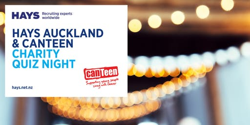 Hays Auckland & CanTeen: Charity  quiz night