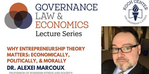 GLE Lecture Series presents Alexei Marcoux