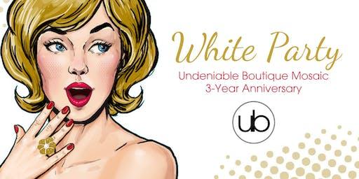 3-Year Anniversary White Party