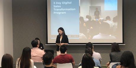 Singapore Digital Sales Masterclass August 2019 tickets