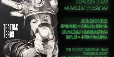 Hooked Pres. Cosmic Pirates vol. 2 w/ Homework (Seoul) tickets