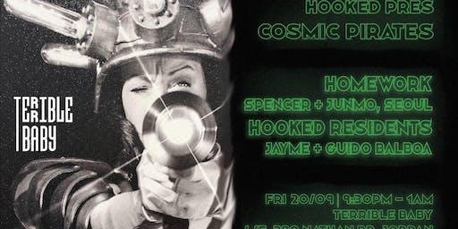 Hooked Pres. Cosmic Pirates vol. 2 w/ Homework (Seoul)