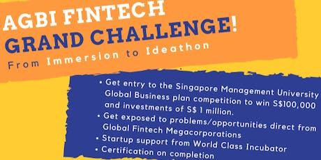 AGBI Fintech Grand Challenge tickets