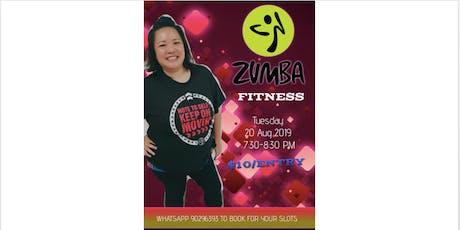 Zumba Workout tickets