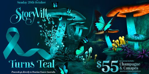 Storyville Turns Teal for Ovarian Cancer