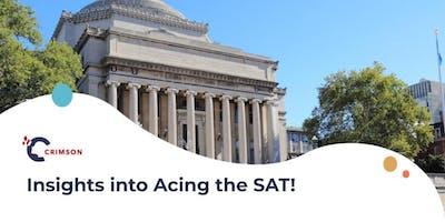 Insights into Acing the SAT!(Bangkok)