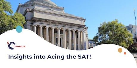 Insights into Acing the SAT!(Bangkok) tickets