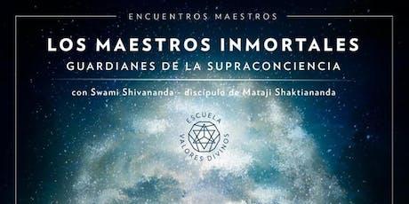 """SALTILLO:""""Los Maestros Inmortales: guardianes de la supraconciencia"""" entradas"""