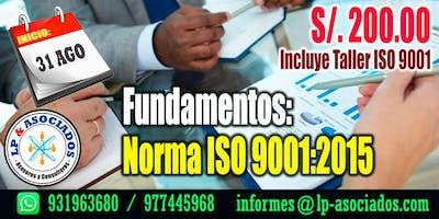 Fundamentos de la Norma ISO 9001:2015 (36h)