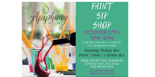 Apiphanys PAINT, SIP & SHOP
