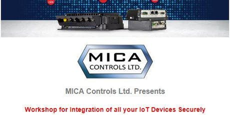 Mica Controls Integration of all your IoT devices securely tickets
