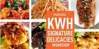 KWH Signature Delicacies Workshop
