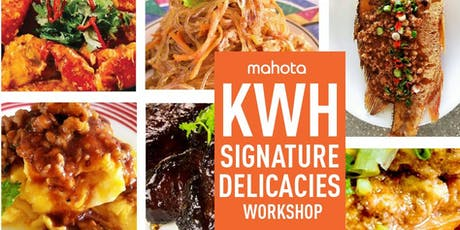 KWH Signature Delicacies Workshop tickets