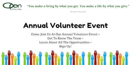 Annual Volunteer Event tickets