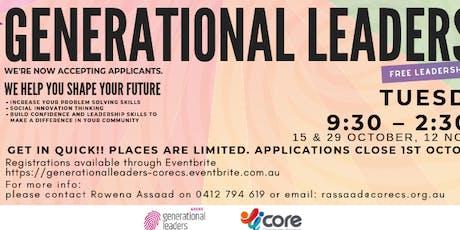 Generational Leaders for Women tickets