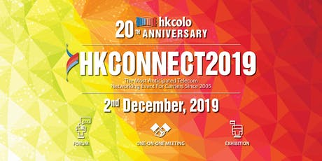 HKCONNECT2019 tickets