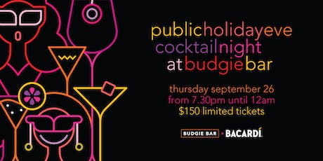 Cocktail Night at Budgie Bar tickets