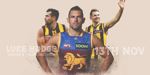 LUKE HODGE & GLEN JAKOVICH (MC) at the Freemasons