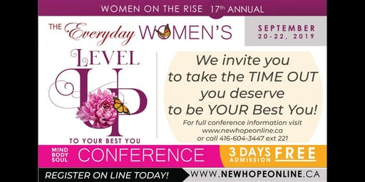 WOMEN ON THE RISE WOMEN'S CONFERENCE - Level Up to be Your Best YOU