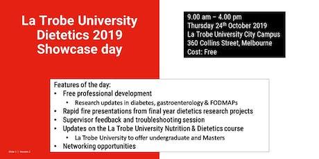 La Trobe University Dietetics Showcase Day 2019 tickets