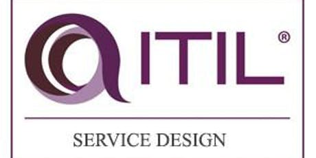 ITIL – Service Design (SD) 3 Days Training in Reading tickets