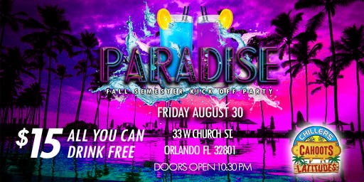 Paradise Downtown Orlando Labor Day Kick Off Party