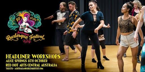 The Australian Burlesque Festival 2019 - Alice Springs Workshops