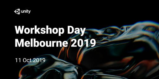 Unity Workshop Day : Melbourne 2019