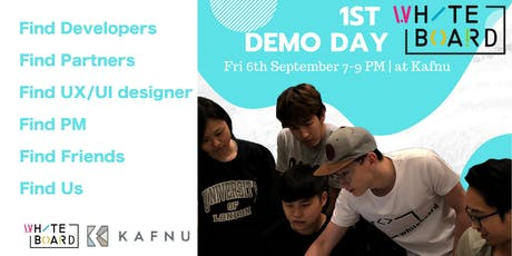 WHITEBOARD ACADEMY 1st DEMO DAY tickets