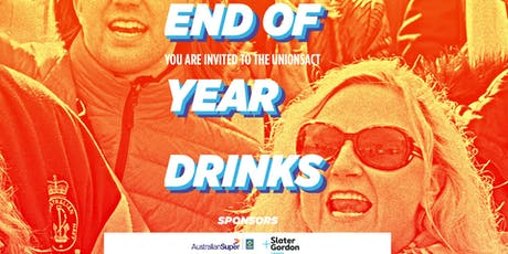End of Year Drinks tickets