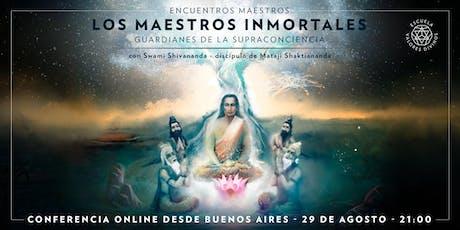 """CONFERENCIA GRATUITA EN GUADALAJARA: """"Los Maestros Inmortales: guardianes de la supraconciencia"""" boletos"""