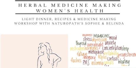 Herbal Medicine Making - Women's Health Medicines tickets